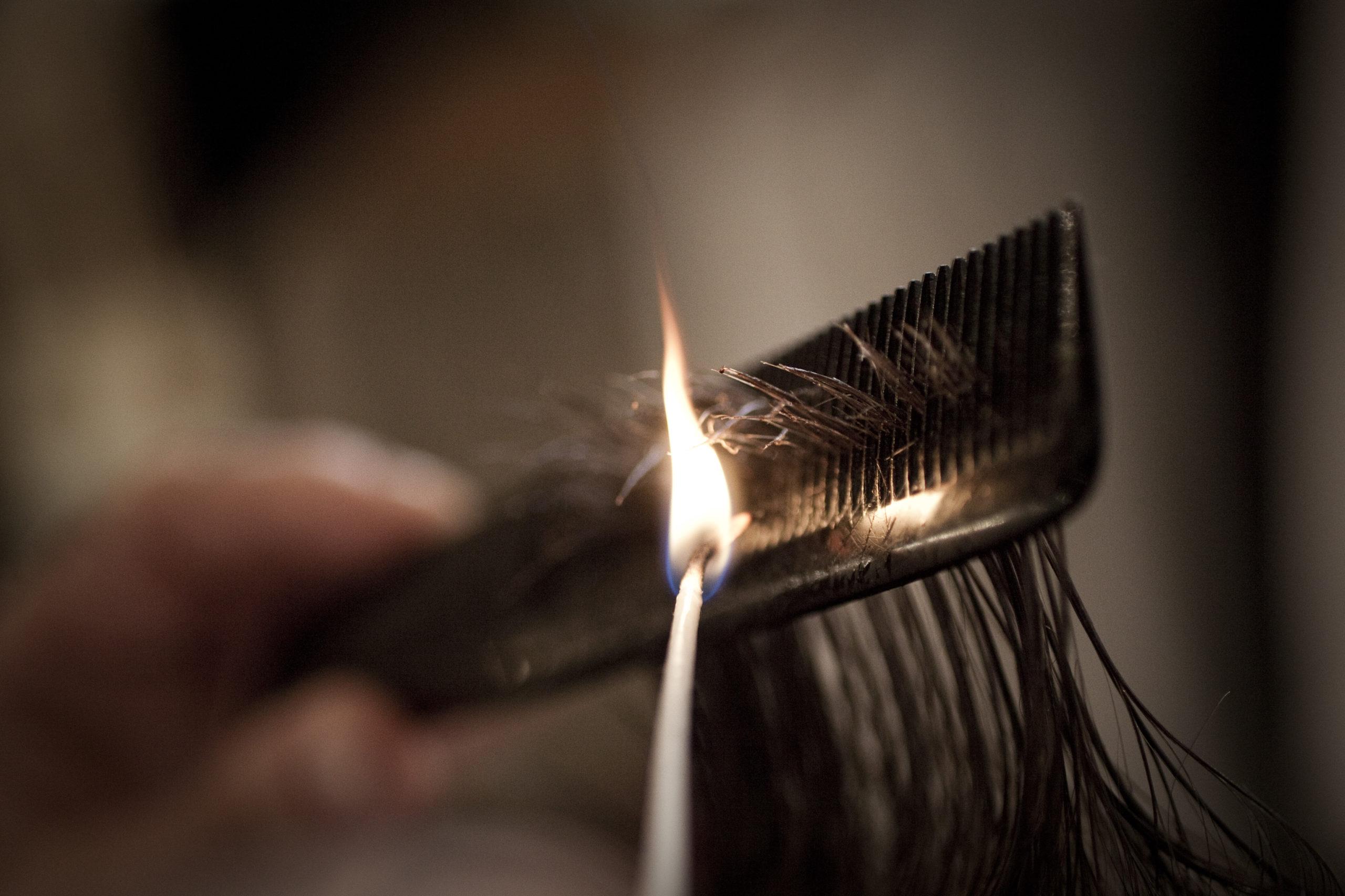 Taglio e trattamento capelli